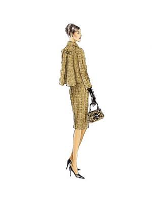 Jachetă şi rochie Retro
