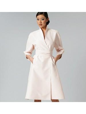 Rochie casual de tip kimono, din colecţia Ralph Rucci